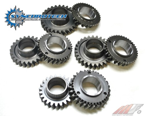 Synchrotech Dual Cone B Series Close Ratio Gear Set W/ Carbon synchros Honda B18 1994-01