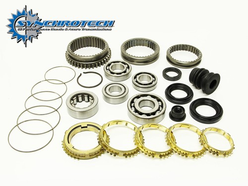 Synchrotech Brass Master Kit Honda 88-91 B16 cable Y1 S1