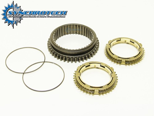 Synchrotech Brass Synchro Sleeve Set 1-2 Honda K Series