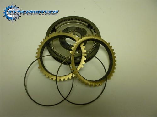 Synchrotech OEM Carbon Synchro Sleeve Set Honda K20 5-6 (single cone)