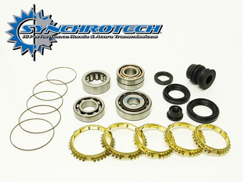 Synchrotech Brass Rebuild Kit Honda 88-91 B16 cable Y1 S1
