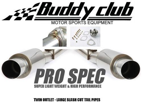 Buddy Club Endschalldämpfer PRO SPEC - Nissan 350Z