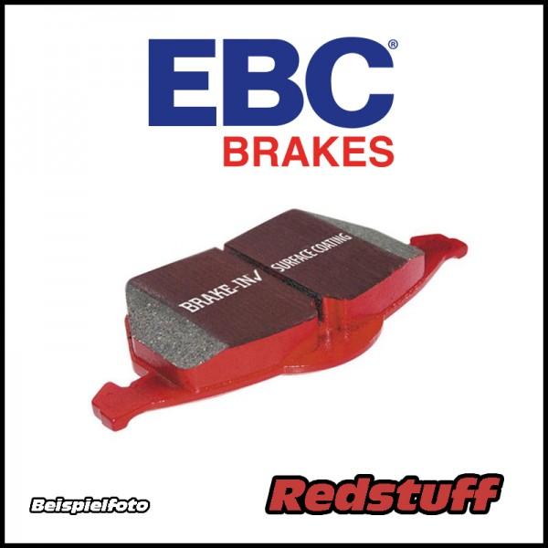 EBC Redstuff Bremsbeläge - für D2 / K-Sport / XYZ 6 Kolben 286/304mm Bremsanlage
