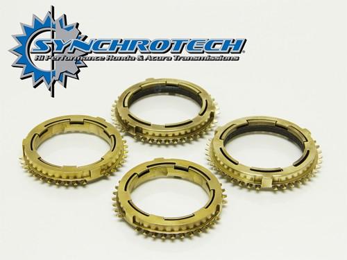 Synchrotech Brass Synchro Set 1-4 Honda K20 6 speed